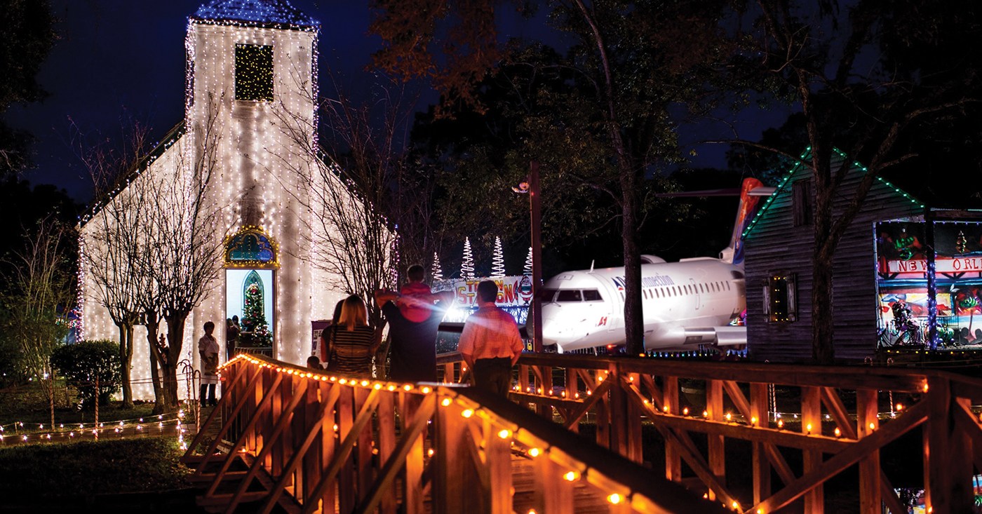 GOOD NEWS: Number Of Aircraft Accidentally Landing At Acadian Villages' Christmas Display Down 5% From 2016