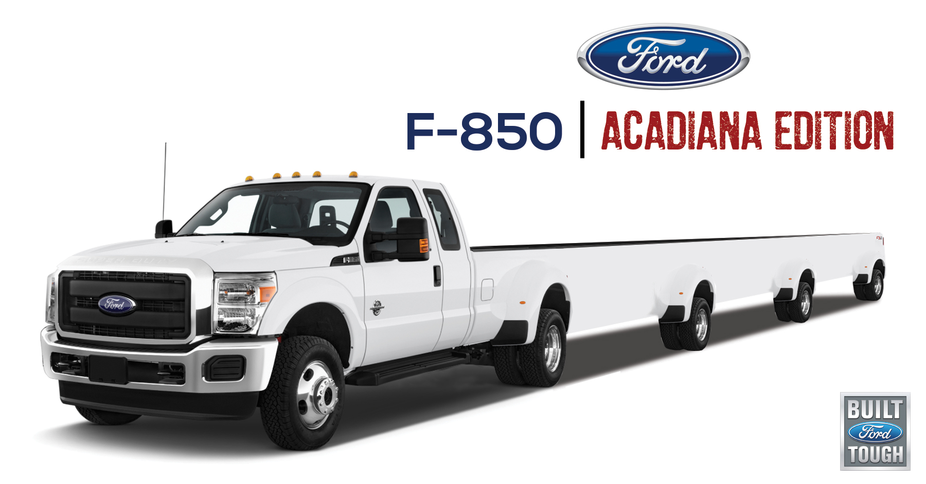 ford announces new f 850 acadiana edition the daily crawfish the daily crawfish